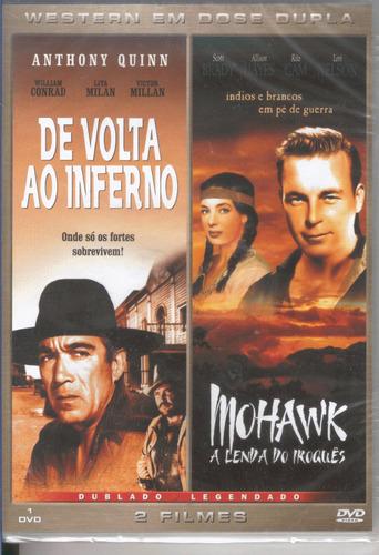 Mohawk A Lenda Do Iroquês-de Volta Ao Inferno Anthony Quinn Original