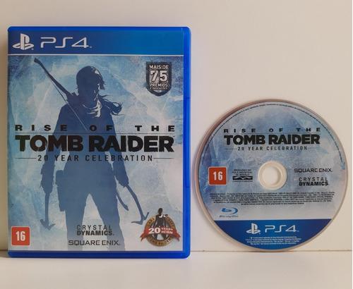 Rise Of The Tomb Raider Definitive Edition Ps4 Mídia Física Original