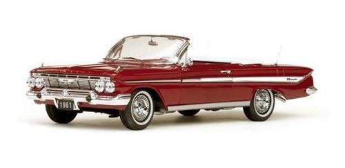 1961 Chevrolet Impala Conversível Vermelho - 1:18 - Sun Star Original