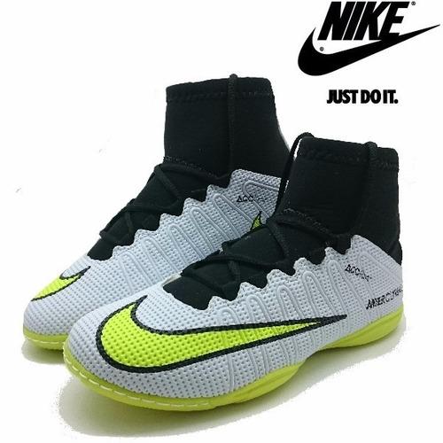 befa1dcffc3be ... comprar Tênis Futsal Nike Botinha Mercurial Cr7 Messi Neymar Queimão ...
