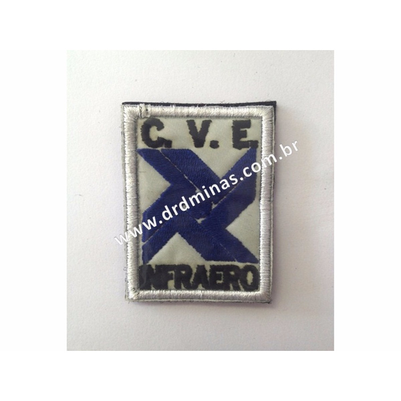 Distintivo Bordado CVE