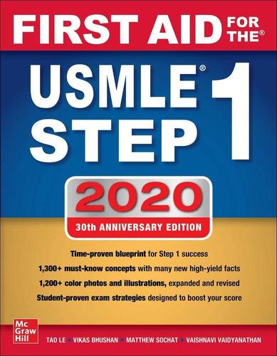 Livro Importado - First Aid For The Usmle Step 1 2020 Original