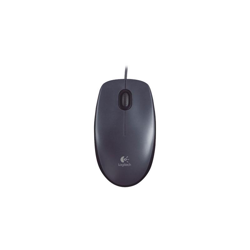 Mouse Óptico Logitech Usb 2.0 M90 Preto 1000dpi