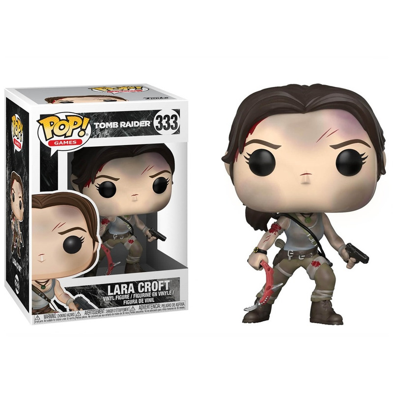 Lara Croft Pop Funko #333 - Tomb Raider - Games