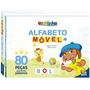 Alfabeto Movel Livro Escolinha Brochura Todo Livro 1151967