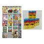 Kit 50 Revistas De Colorir 50 Caixas De Giz De Cera .