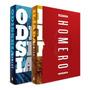 Caixa Box Ilíada Odisseia Homero 2 Livros Lacrado