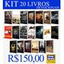 Kit Com 20 Livros Devocionais Tamanho 14x20 Serie Azul