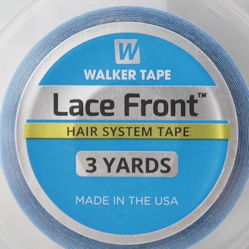 Fita para Prótese Capilar Lace Front 3 yards 1,3cm Walker Tape Original