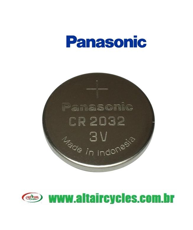 CARTELA BATERIA PANASONIC CR2032 3V LITHIUM