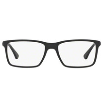 2de577afa71f2 Comprar Óculos De Grau Ray Ban Rx7096 5656 Preto Fosco Lentes Tam 5