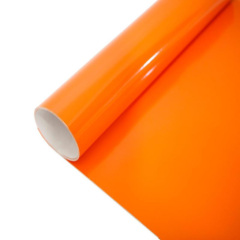 Vinil adesivo Goldmax laranja larg. 1,22 m