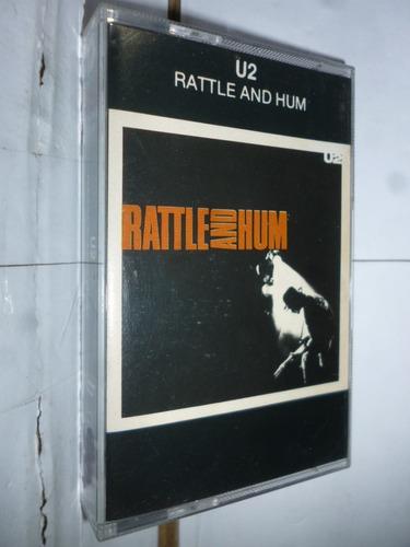 Fita K7 U2 Rattle And Hum Br Original