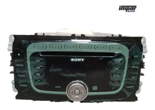 Rádio Com Cd Player Mp3 E Entrada Auxiliar Focus 2008 E 2009 Original