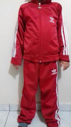 0316d75e5b Conjunto adidas Infantil Masculino E Feminino à venda em Cooperativa ...