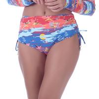 Calcinha Summer Soul Hot Pants Com Amarração Garça Laranja