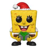 Holiday SpongeBob Pop Funko #453 - Bob Esponja Holiday - Animation