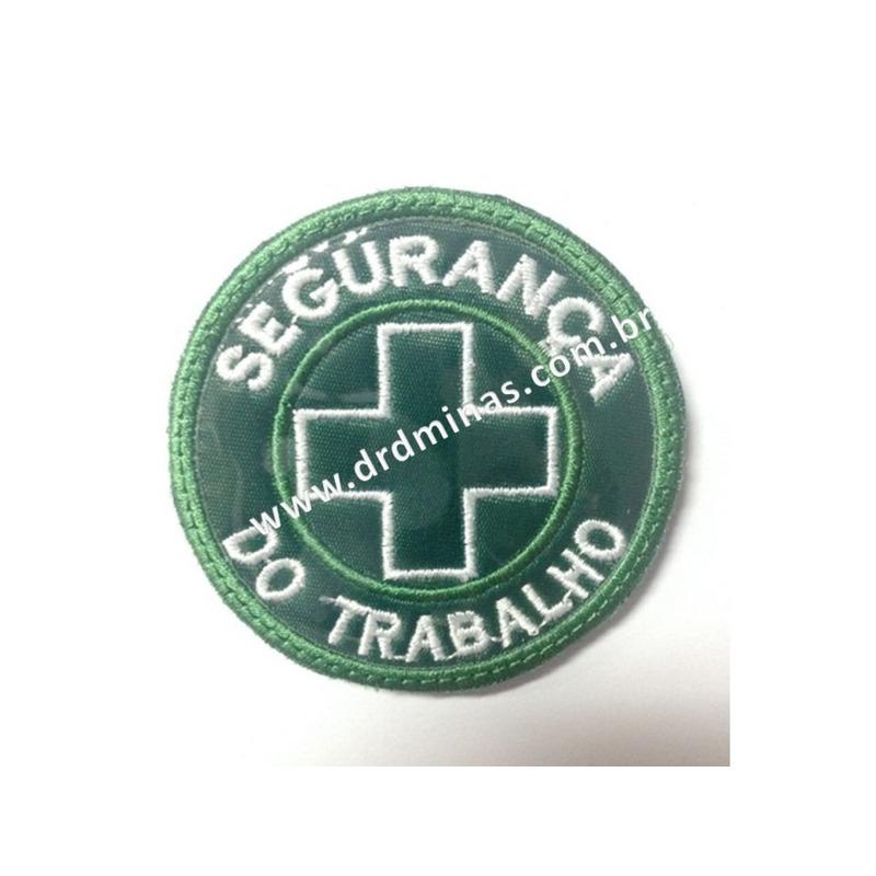 Patch / Distintivo Bordado Segurança do Trabalho