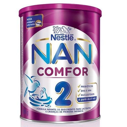 Leite Nan Comfor 2 Nestlé 800g