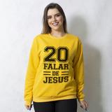 MOLETOM BÁSICO MOSTARDA - VINTE