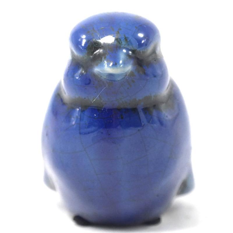 Pássaros em cerâmica para decoração - Azul