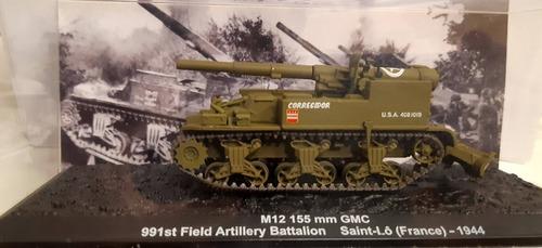 Blindado De Combate 1/72 M12 155 Mm Altaya Ixo Original