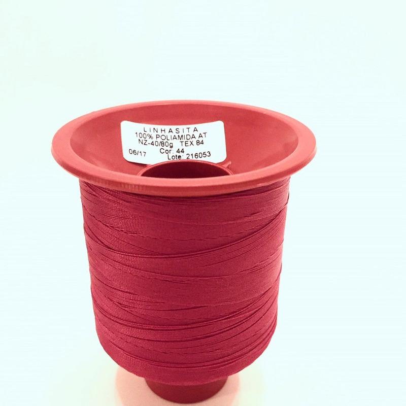 Linha 40 para costura vermelho - 44