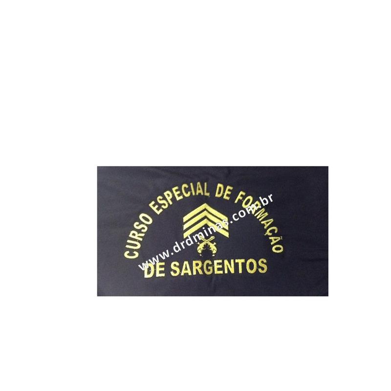 Camisa CEFS  - Preta  Bordada