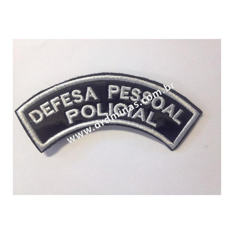 Patch / Distintivo Bordado Defesa Pessoal Policial - U