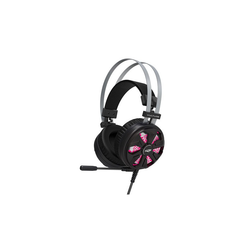 HEADSET GAME 7.1 USB C3TECH VULTURE PH-G710BK PRETO