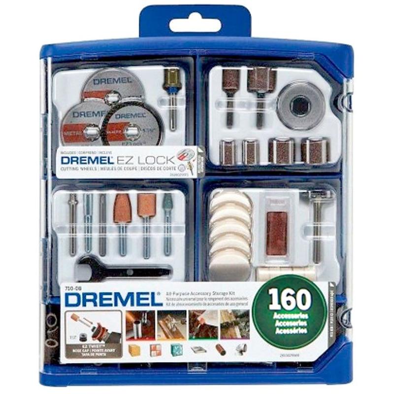 Kit Dremel 710 Uso Geral 160 peças Ref.710-RW2