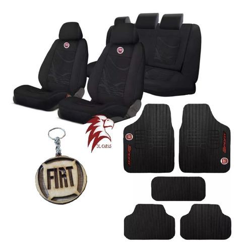 Capa Banco Carro Tecido  Fiat Palio Fire 2002 A 2017 Original
