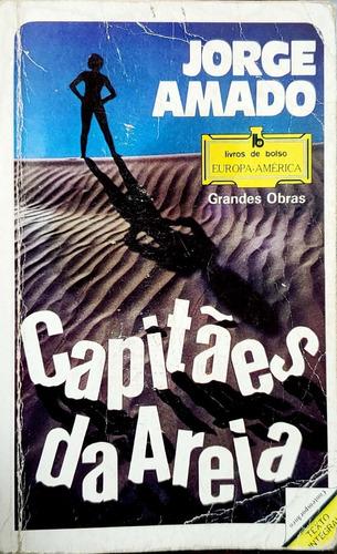Livro Capitães Da Areia De Jorge Amado Europa-américa B2847 Original