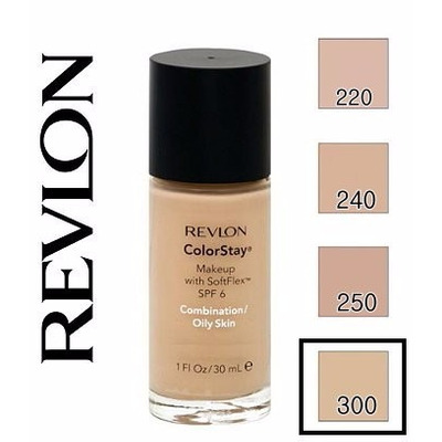 Base Revlon Colorstay Foundation 300 Golden Beige - R$ 75