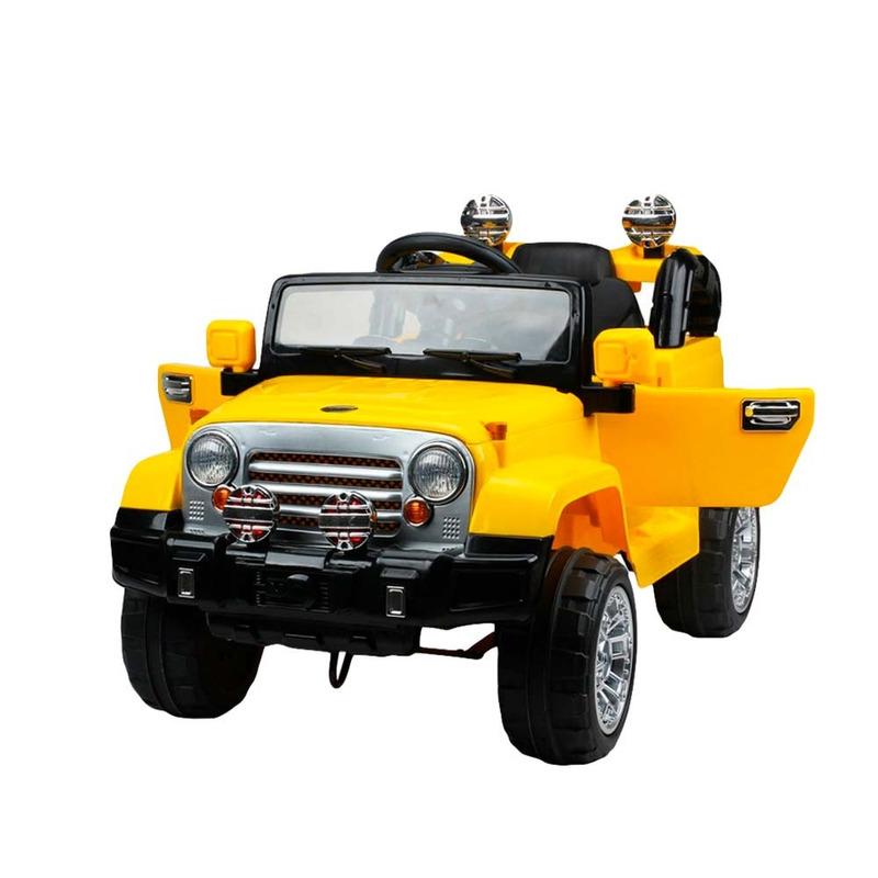 Jipe Trilha com Controle Remoto - Amarelo - 927600 - Bel Brink+ Parafusadeira Recarregável com maleta 4,8V - FPF-05M - BIVOLT - Mondial