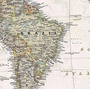 Mapa Mundi Político Hd Grande De Parede Em Papel Fotográfico