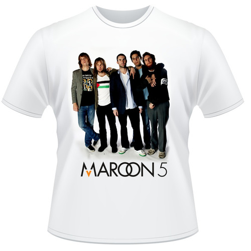 Camisa Maroon 5  - Adam Levine