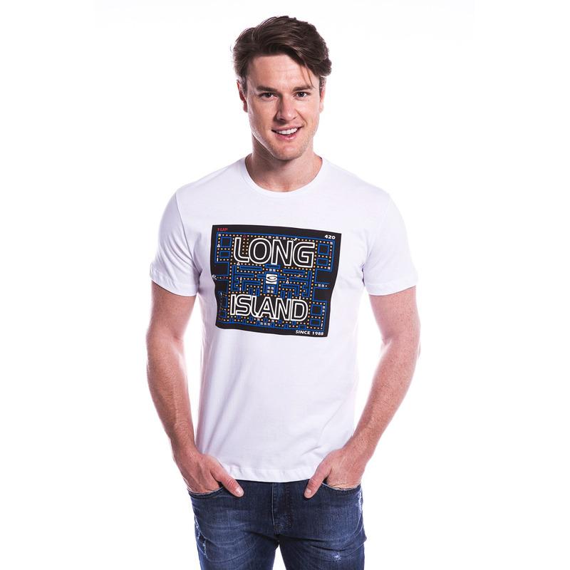 Camiseta Long Island AX Branco