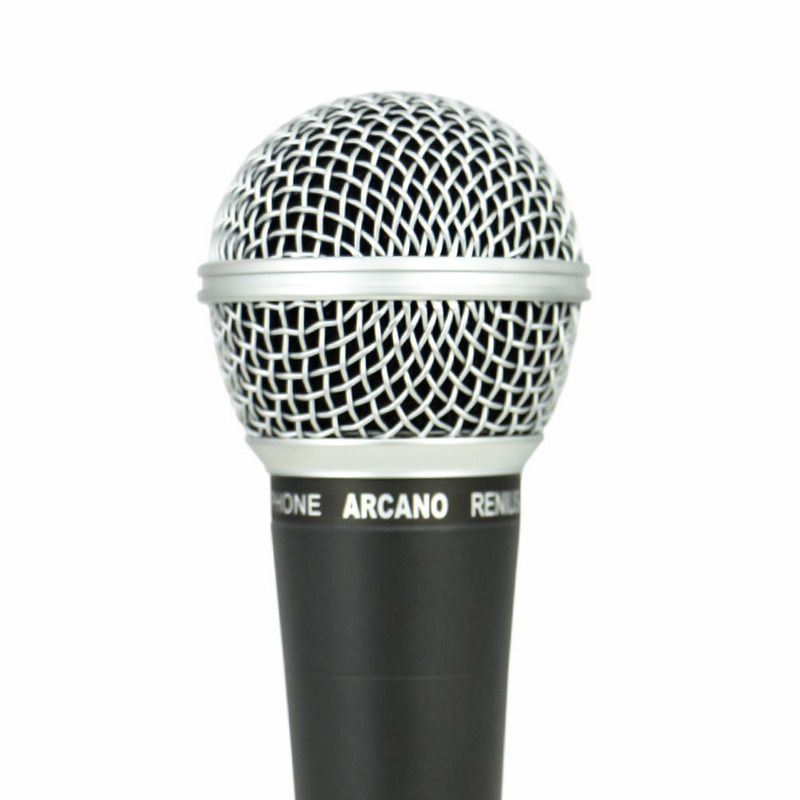 MICROFONE ARCANO DINAMICO RENIUS-8 XLR-P10