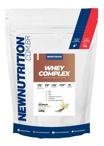 Whey Complex New 1,2kg Baunilha Original