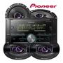 Som Pioneer Mvh s618bt iPhone Android Usb Falantes 6 E 6x9
