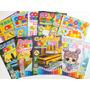 10 Revistas Livrinhos De Colorir Infantil Atividades Pintar