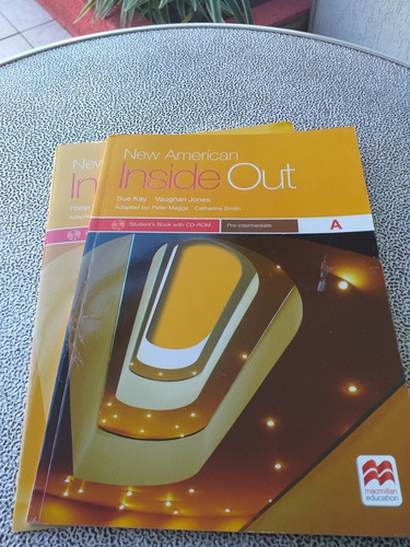 Livro New American Inside Out Pre-interm A St And With Cd-r Original