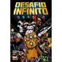 Thanos Desafio Infinito Capa Dura Marvel