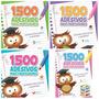 Frete Grátis: Kit Com 20 Livros 1500 Adesivos P/ Professores
