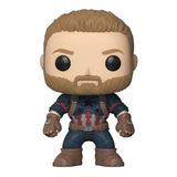 Capitão America Pop Funko #288 - Guerra Infinita - Marvel