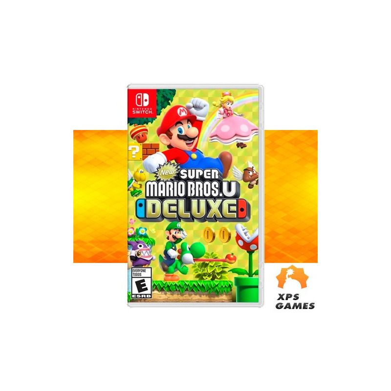 Jogo New Super Mario Bross U Deluxe - Switch