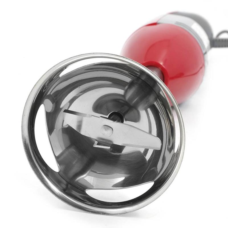 Mixer Oster Vermelho com 250W e Haste em Inox 110V