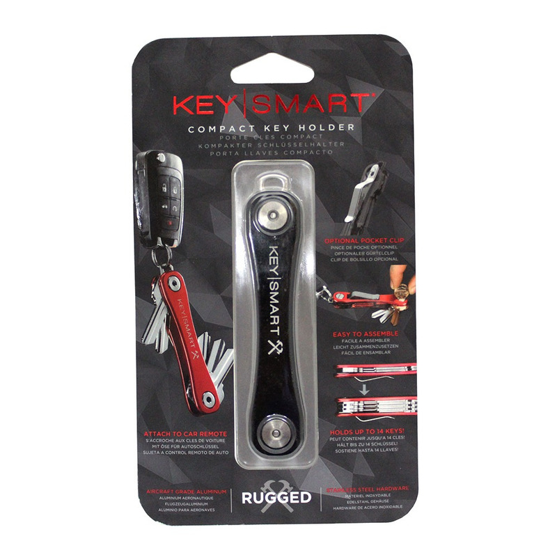Key Smart Chaveiro Organizador de Chaves - Rugged Black 6438