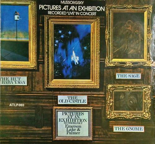 Emerson Lake E Palmer Pictures At An Exhibition Lp 1972 N443 Original
